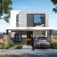 : Casas multifamiliares de estilo  por FFélix Architecture
