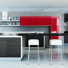 Built-in kitchens by Calegra México