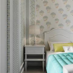 Habitaciones juveniles de estilo  por Дизайн интерьера Киев|tishchenko.com.ua