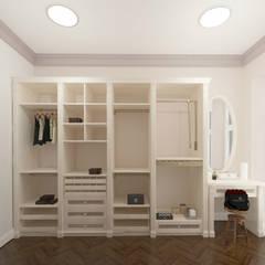 Дизайн интерьера спальни: Гардеробные в . Автор – SOS-REMONT