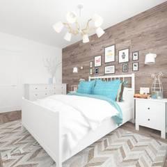 Dormitorios pequeños de estilo  por SOS-REMONT