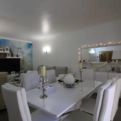 Moradia T5 Odivelas - Lisboa Salas de jantar mediterrânicas por EU LISBOA Mediterrânico