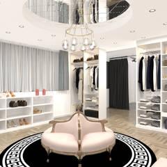 Altuncu İç Mimari Dekorasyon – Brentiny Paris FRANSA Showroom ve Fotoğraf çekim Alanı:  tarz Ofisler ve Mağazalar