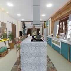 Casa de Praia Bertioga Cozinhas coloniais por 88 Arquitetura Colonial