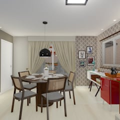Dining room by 88 Arquitetura