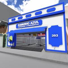 Danúbio Azul - Limeira: Edifícios comerciais  por 88 Arquitetura