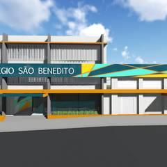 Colégio São Benedito - Limeira: Escolas  por 88 Arquitetura