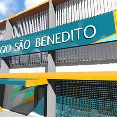Colégio São Benedito - Limeira Escolas modernas por 88 Arquitetura Moderno