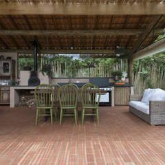 Residência ST | Reforma e Ampliação Cozinhas campestres por Beatriz Zanini Castanho Arquitetura e Interiores Campestre