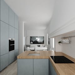 Built-in kitchens by ManGa architects