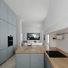 置入式廚房 by ManGa architects