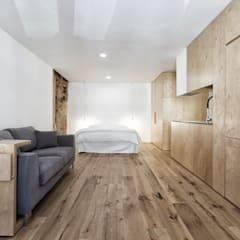 Small bedroom by ManGa architects