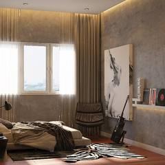 Pavilion Hilltop Mont Kiara:  Bedroom by Norm designhaus,