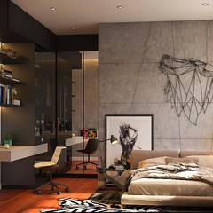 اتاق خواب توسطNorm designhaus