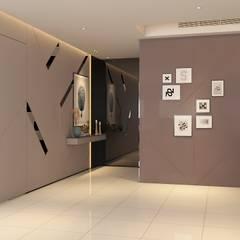 Pavilion Hilltop Mont Kiara:  Corridor & hallway by Norm designhaus, Modern