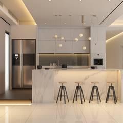 Pavilion Hilltop, Mont Kiara :  Kitchen by Norm designhaus