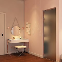 Pavilion Hilltop Mont Kiara:  Bedroom by Norm designhaus