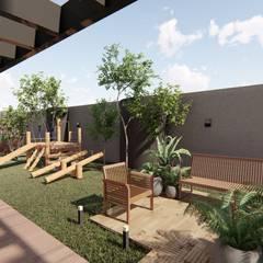 Garden by Bonomiveras Arquitetura