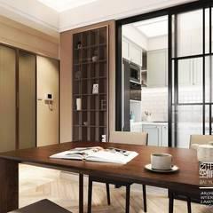 Dining room by 百玥空間設計