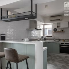 وحدات مطبخ تنفيذ 百玥空間設計
