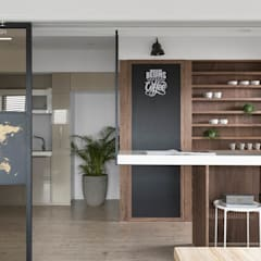 Kitchen by 百玥空間設計, Eclectic Metal