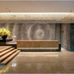 晶英酒店大廳設計:  飯店 by 樸木聯合建築師事務所, 現代風