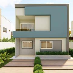 Casa 02 por Habitus Arquitetura Moderno Concreto