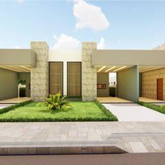 Casa 04 por Habitus Arquitetura Moderno Concreto