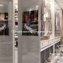 Phòng thay đồ by Дизайн-студия элитных интерьеров Анжелики Прудниковой