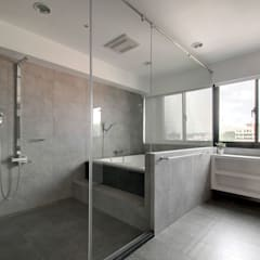 跳脫框架:  浴室 by 邑舍室內裝修設計工程有限公司,