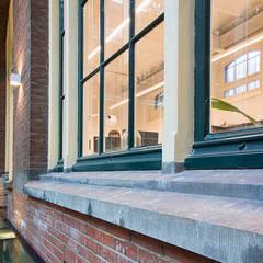 Elandsstraat 44 Moderne kantoorgebouwen van Van Wilsem & Cabri - Architectuur en Management Modern Hout Hout