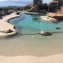 Garden Pool by ROCKS GARDENS DESIGN