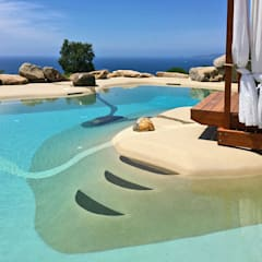 Garden Pool by ROCKS GARDENS DESIGN,