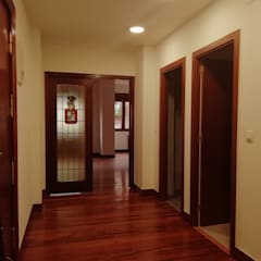 Glass doors by ABD , Eclectic Wood Wood effect