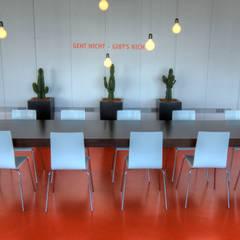 Fun Office Neuss:  Kantoorgebouwen door EROL