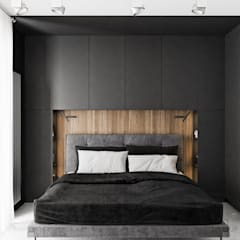 Small bedroom by LINEUP STUDIO, Modern