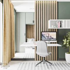 Projekt mieszkania w Krakowie: styl , w kategorii Pokój dziecięcy zaprojektowany przez LINEUP STUDIO,
