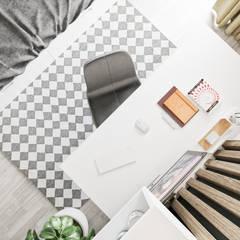 Projekt mieszkania w Krakowie: styl , w kategorii Pokój dziecięcy zaprojektowany przez LINEUP STUDIO