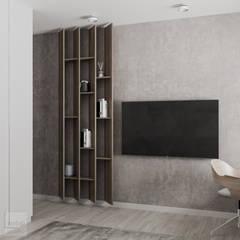 Projekt mieszkania w Warszawie od LINEUP STUDIO Nowoczesny
