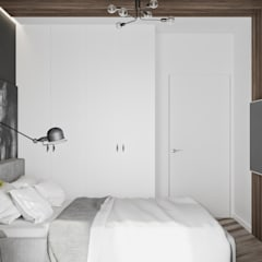 Small bedroom by LINEUP STUDIO