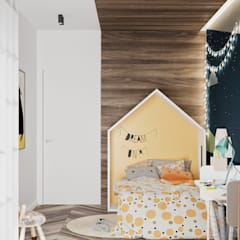 Girls Bedroom by LINEUP STUDIO