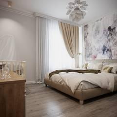 Habitaciones juveniles de estilo  por Антон Васьков, Ecléctico