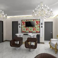 Салон красоты.: Коммерческие помещения в . Автор – Студия Ольги Таракановой