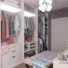 غرفة الملابس تنفيذ YZ-design,