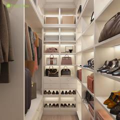 Walk in closet de estilo  por ЕвроДом