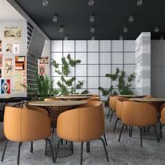 3д визуализации с проработкой дизайна.: Столовые комнаты в . Автор – DeepAA