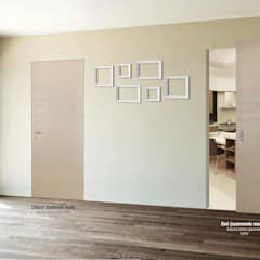 Wooden doors by AM PORTE SAS