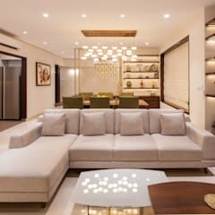 2502 Angelica:  Living room by co_LAB Design Studio