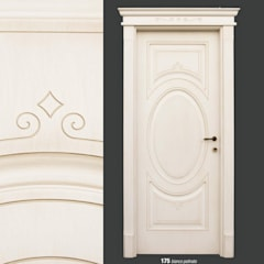 Wooden doors by AM PORTE SAS, Classic