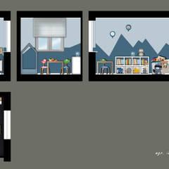 Kinderzimmer für Jungen:  Kinderzimmer Junge von KHG Raumdesign - Innenarchitektin in Berlin
